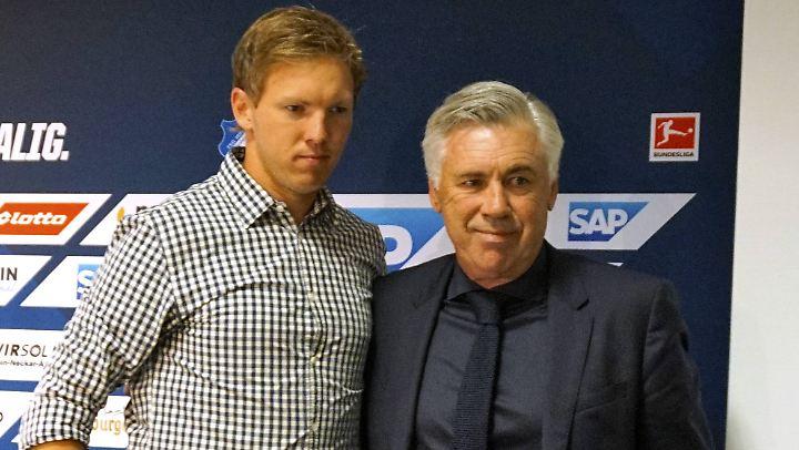 Julian Nagelsmann und Carlo Ancelotti - folgt der eine auf den anderen?