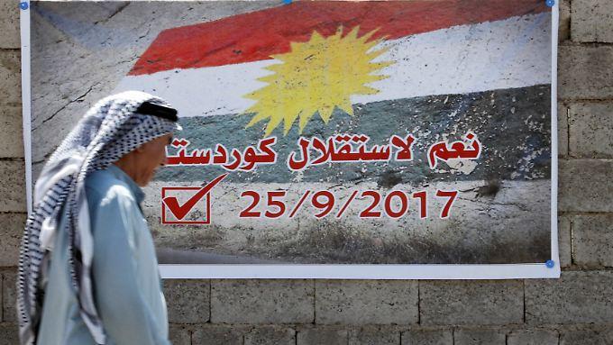 25. September 2017: Für die Kurden, die seit Jahrzehnten für einen unabhängigen Staat kämpfen, könnte es ein Schicksalstag werden.