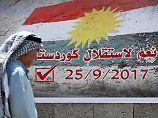 Neuer Staat im Norden?: Bagdad erteilt Kurden-Referendum Absage