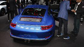 Mit 3,9 Sekunden lässt sich der Porsche 911 GT3 auch mit Touring-Paket nicht viel Zeit für den Standardsprint.