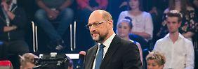Brief an die Kanzlerin: Schulz fordert zweites TV-Duell