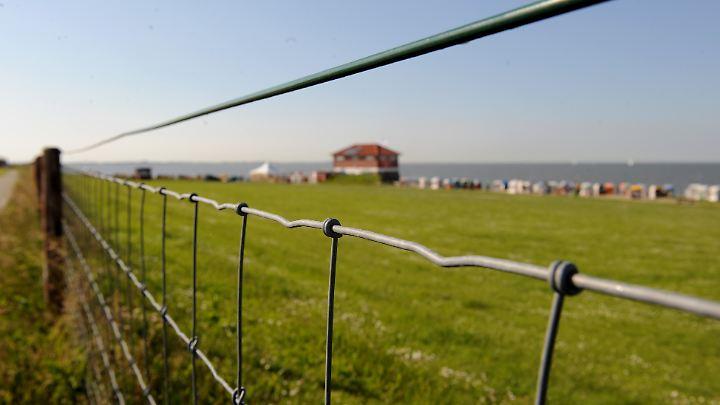 Zäune und Eintrittsgelder ärgern Anwohner der Gemeinde Wangerland.