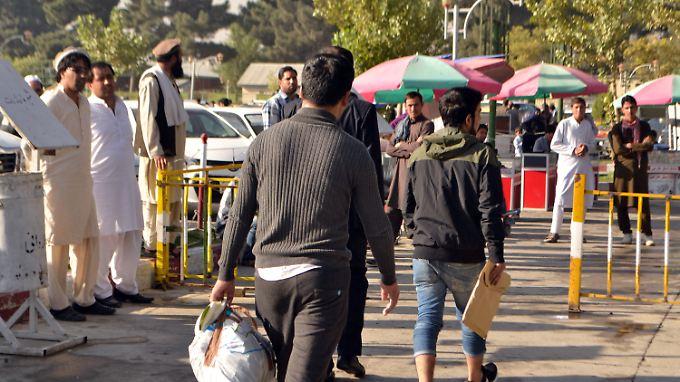Die abgeschobenen Afghanen sind mittlerweile in Kabul eingetroffen.