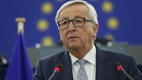 Juncker hält seine jährliche Rede zur Lage der Nation.