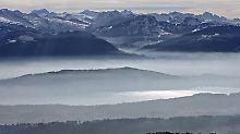 Flugzeugabsturz in der Schweiz: Zwei Deutsche sterben in den Glarner Alpen