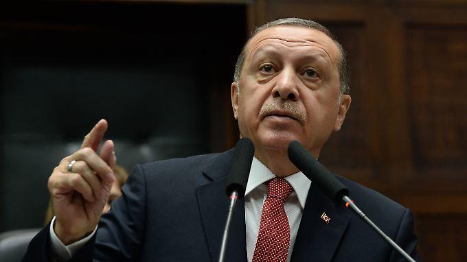 Erdogan-Masken will der türkische Präsident auch nicht.