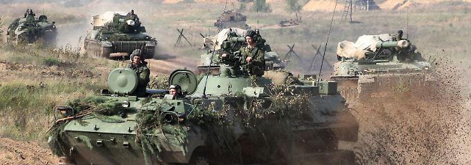An der Achillesferse der Nato: Russland bläst zum Großmanöver