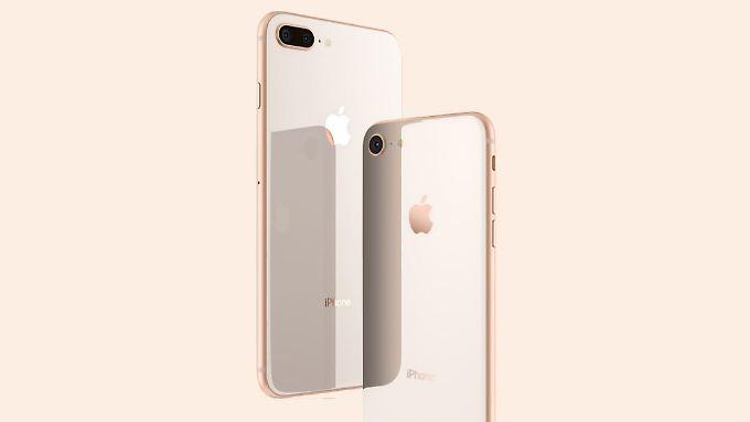 Die neuen iPhones sehen den Vorgängern ziemlich ähnlich.