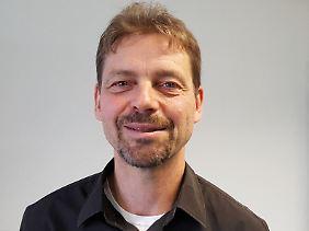 Axel Liebscher, Projektleiter des Ketziner Versuchsstandorts.