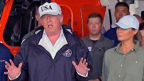 """Verheerende Folgen von Hurrikan """"Irma"""": Trump reist persönlich ins Krisengebiet Florida"""