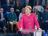 Stellte sich den Fragen der Bürger: Angela Merkel