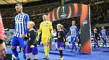 Nur ins Stadion geh'n sie nicht: Hertha in Europa? Ach, egal