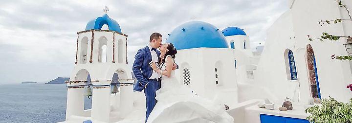 Heiraten im europäischen Stil: Chinesische Paare erobern griechische Liebesinsel