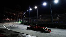 Sebastian Vettel strauchelt - dabei gilt er doch als Singapur-Favorit.
