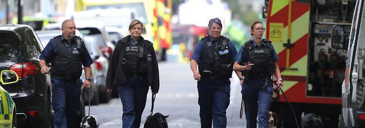 Terrorattacke in London: Behörden ermitteln ersten Verdächtigen