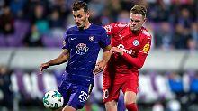 Union und Braunschweig sieglos: Kieler feiern vierten Erfolg in Serie