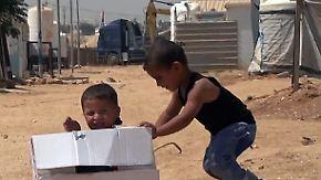 Jordanisches Flüchtlingslager Zaatari: Über die Hälfte der Bewohner sind minderjährig