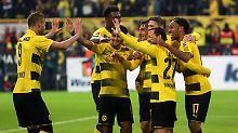 Kantersieg mit irregulärem Tor: BVB zeigt Torgala, Köln kündigt Protest an