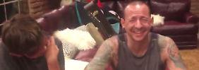36 Stunden vor seinem Tod: Das letzte Video von Chester Bennington
