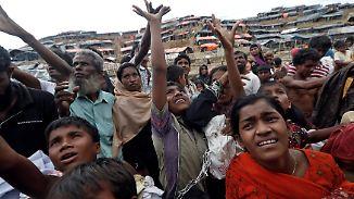 Vertreibung der Rohingya: Muslime berichten von brutaler Verfolgung in Myanmar