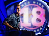 Millionäre als Joker: Jauch feiert 18. Jubiläum mit 18-Jährigen