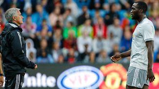 Zwei, die die Hoffnung tragen: José Mourinho und Romelu Lukaku.