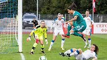 Der Sport-Tag: DFB-Frauen verlängern Mega-Serie in WM-Quali