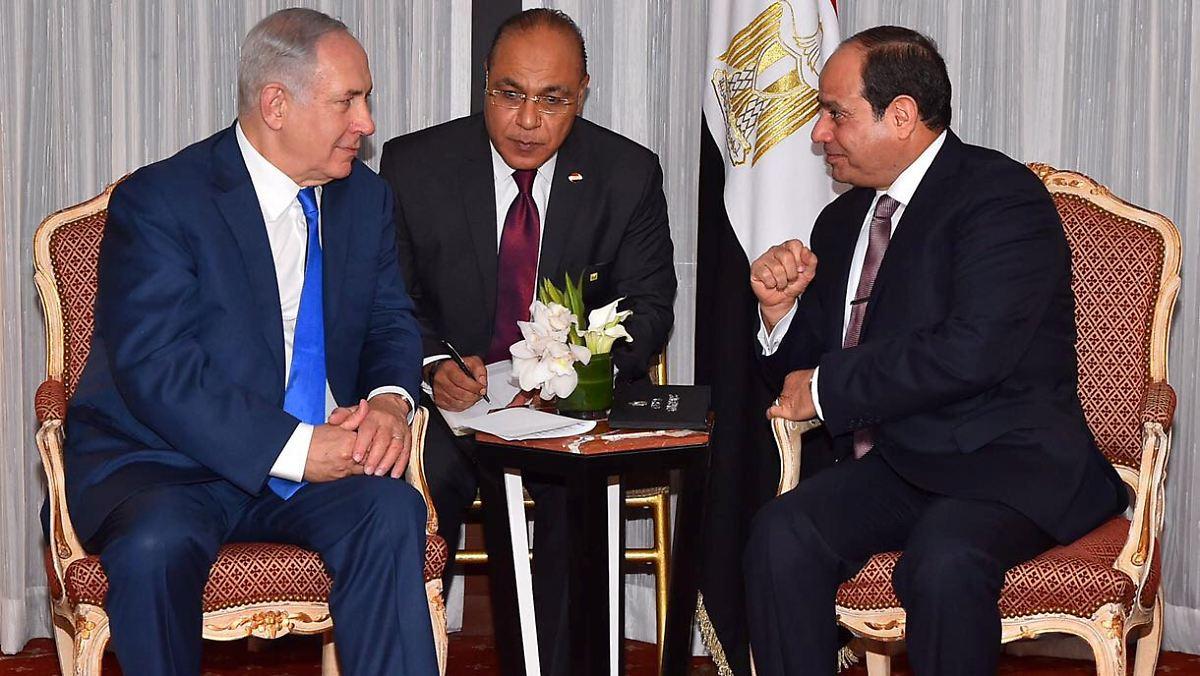 Nach Gespr Ch Mit Netanjahu Al Sisi Ruft Zu Frieden Im