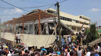 Das war der Morgen bei n-tv: Retter kämpfen verzweifelt um verschüttete Schüler in Mexiko