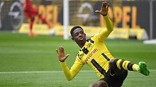 Nicht mehr in Dortmund, aber immer noch Thema: Ousmane Dembélé.