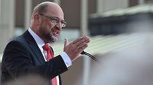 """Martin Schulz glaubt an einen """"Last-Minute-Swing""""."""