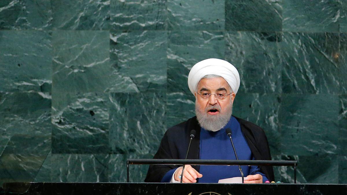 Iran widerspricht Trumps Vorwürfen scharf