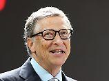 Findet Strg + Alt + Entf selbst nicht besonders gelungen: Bill Gates.