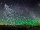 """Starke """"Oh-mein-Gott-Teilchen"""": Ferne Galaxien senden Kosmische Strahlung"""