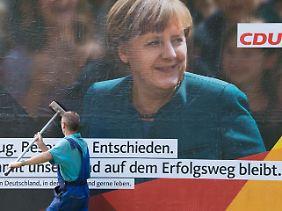 Flaggschiff im CDU-Wahlkampf.