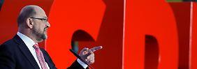 Martin Schulz kämpft und kämpft, die Umfrageergebnisse der SPD bleiben dennoch schlecht.