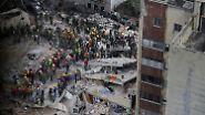 Hoffnung durch Solidarität: Mexiko steht in den Trümmern zusammen