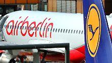 Kosten für Air-Berlin-Übernahme: Lufthansa rechnet mit 300 Millionen Euro