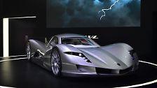 Als sprintstärkstes Auto der Welt präsentiert der japanische Mischkonzern Aspark die Elektroflunder Owl.