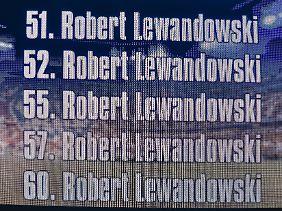 22. September 2015: Der FC Bayern schlägt den VfL Wolfsburg mit 5:1. Und Robert Lewandowski hatte einen schönen Abend.