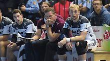 """""""Es gab eine gewisse Resignation im Team"""": Kiels Trainer Alfred Gislason in Wetzlar."""