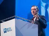 Spacey will Nachwuchs Mut machen: Startup-Festival lockt auch große Konzerne