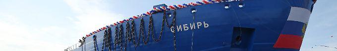 Der Tag: 20:39 Russland tauft atombetriebenen Eisbrecher