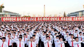 Schlagabtausch heizt sich weiter auf: Pjöngjang ruft zur Massendemo gegen USA