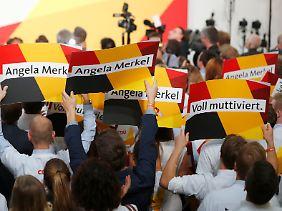 Gewinnerin oder Verliererin? Die CDU und Kanzlerin Merkel.