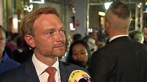 "Christian Lindner im n-tv Interview: ""Die FDP hat Selbstironie gelernt"""