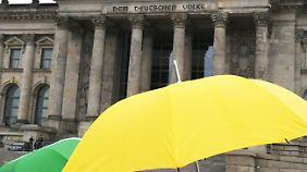 Ist Jamaika eine Option?: FDP skeptisch gegenüber Bündnis mit Grünen