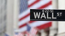 Zinsspekulation hilft Banken: Wall Street beendet Verlustserie