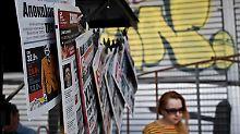 24 Stunden keine Nachrichten: Griechische Journalisten streiken