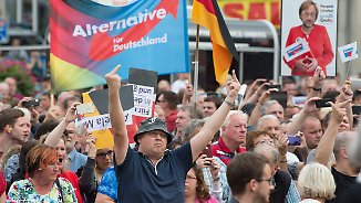 Tacheles an der Tankstelle: Wie die AfD in Sachsen stärkste Kraft wurde